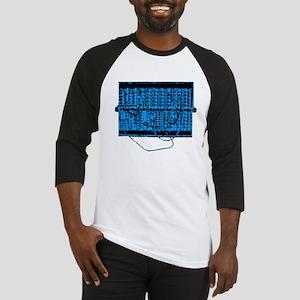 Modular Synth Blue/Black Baseball Jersey