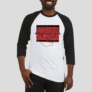 Modular Synth Red/Black Baseball Jersey