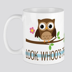 75th Birthday Owl Mug