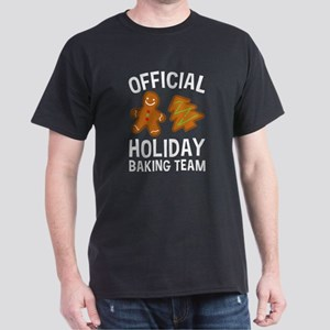 Official Holiday Baking Team Dark T-Shirt