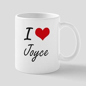 I Love Joyce artistic design Mugs