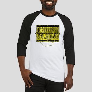 Modular Synth Yellow/Black Baseball Jersey