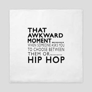 Hip Hop Dance Awkward Designs Queen Duvet