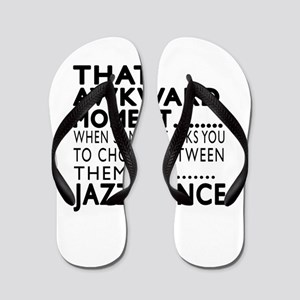 Jazz Dance Awkward Designs Flip Flops