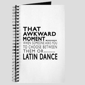 Latin Dance Awkward Designs Journal