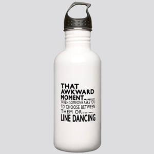 Line dancing Dance Awk Stainless Water Bottle 1.0L