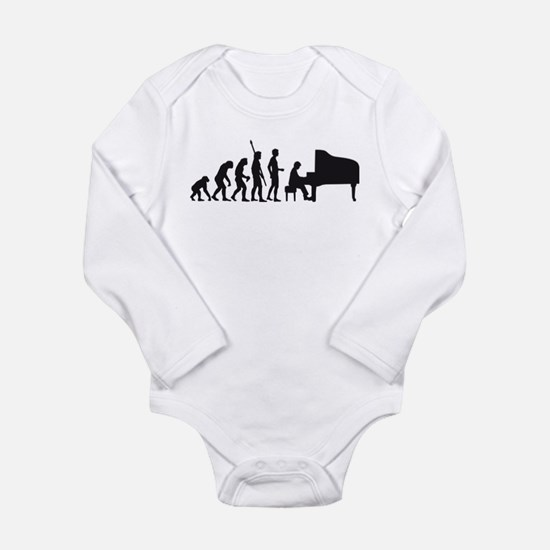 evolution piano player Body Suit