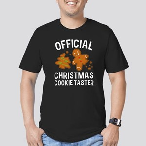 Official Christmas Cookie Taster Men's Fitted T-Sh