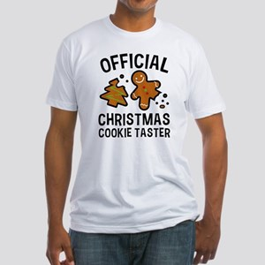 Official Christmas Cookie Taster Fitted T-Shirt