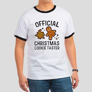 Official Christmas Cookie Taster Ringer T