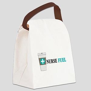 Nurse Coffee Drinker Canvas Lunch Bag