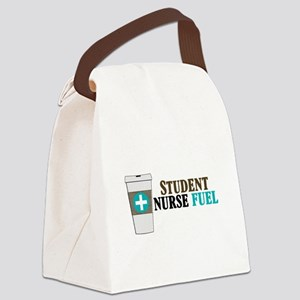 Nursing Student Humor Canvas Lunch Bag