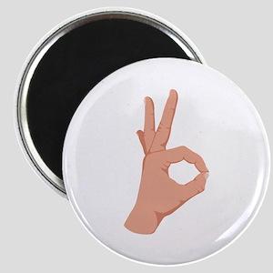 Okay Hand Sign Magnets