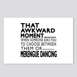 Merengue Dance Awkward De Postcards (Package of 8)