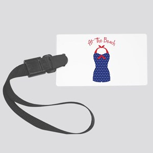 At The Beach Luggage Tag