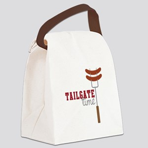 Tailgate Time Canvas Lunch Bag