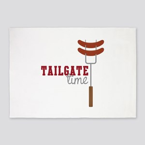Tailgate Time 5'x7'Area Rug