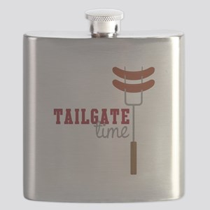 Tailgate Time Flask