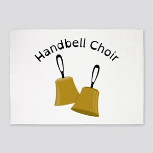 Handbell Choir 5'x7'Area Rug