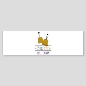 Childrens Bell Choir Bumper Sticker