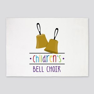 Childrens Bell Choir 5'x7'Area Rug
