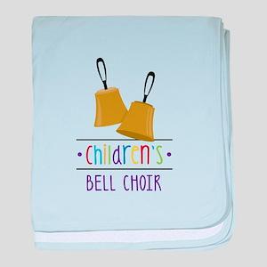 Childrens Bell Choir baby blanket