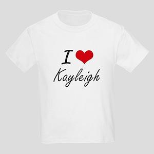 I Love Kayleigh artistic design T-Shirt