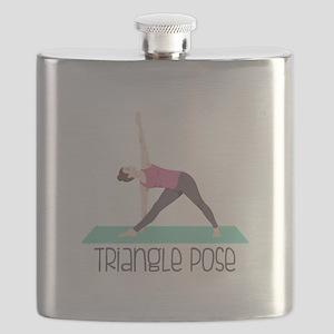 Triangle Pose Flask