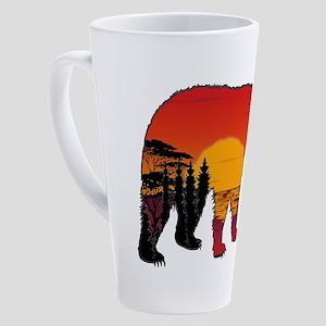 BEAR SET 17 oz Latte Mug