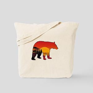 BEAR SET Tote Bag