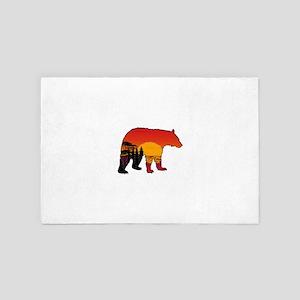 BEAR SET 4' x 6' Rug