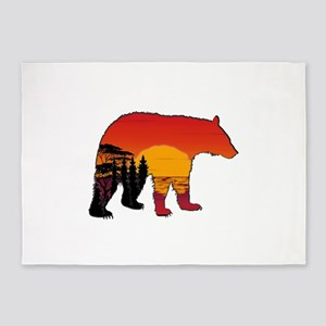 BEAR SET 5'x7'Area Rug