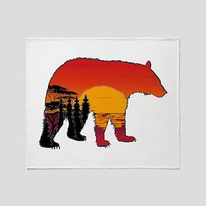 BEAR SET Throw Blanket