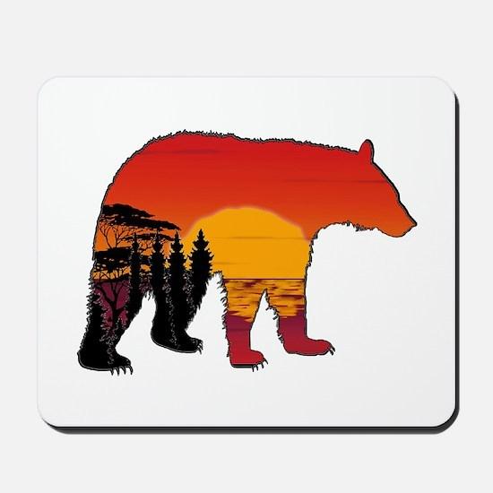 BEAR SET Mousepad