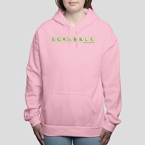 Scrabble Tiles Women's Hooded Sweatshirt