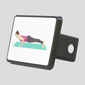 Plank Yoga Pose Hitch Cover