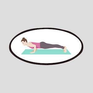 Plank Yoga Pose Patch