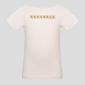 Scrabble Tiles Organic Baby T-Shirt