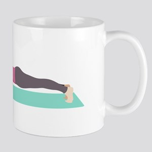 Plank Yoga Pose Mugs