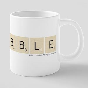 Scrabble Tiles 20 oz Ceramic Mega Mug