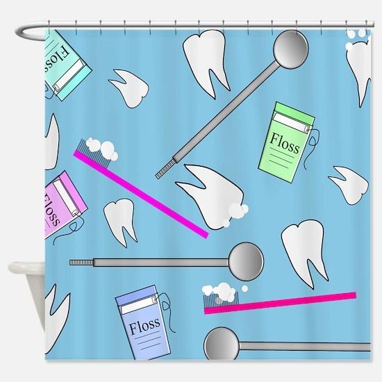 Dental Tools Shower Curtain