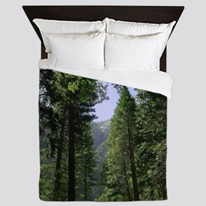 sequoia national park Queen Duvet