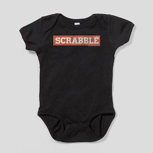 Vintage Scrabble logo Baby Bodysuit