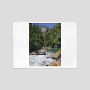 sequoia national park 5'x7'Area Rug