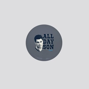 New Girl All Day Son Mini Button