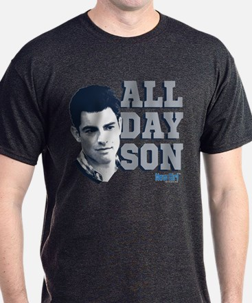 New Girl All Day Son T-Shirt