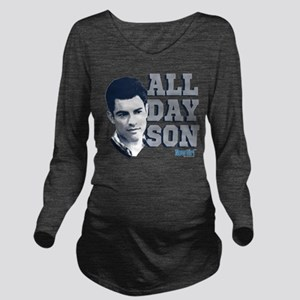 New Girl All Day Son Long Sleeve Maternity T-Shirt