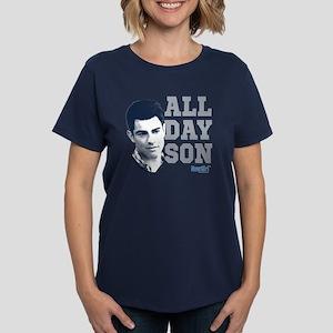 New Girl All Day Son Women's Dark T-Shirt