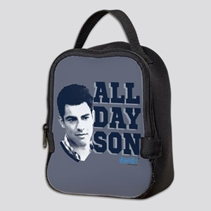 New Girl All Day Son Neoprene Lunch Bag