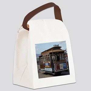 san francisco Canvas Lunch Bag